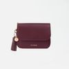 Dijon N301R Round Card Wallet burgundy
