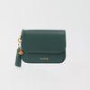 [태슬(컬러동일)+장미카드 증정] Dijon N301R Round Card Wallet green