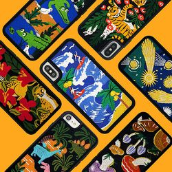 [~10/8까지] Embroidery Case (아이폰 위글위글 자수폰케이스)