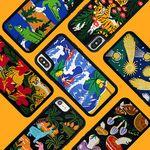 [~3/5까지] Embroidery Case (아이폰 위글위글 자수폰케이스)