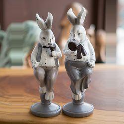 J31 부부 토끼 인형
