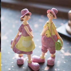 J39 핑크 소년소녀 인형