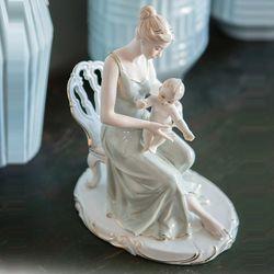 JP49 피겨린 유럽풍 아기와엄마 인형