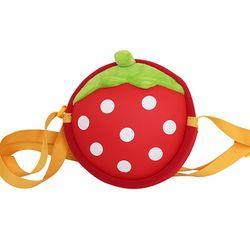 딸기 아동 클로스 백