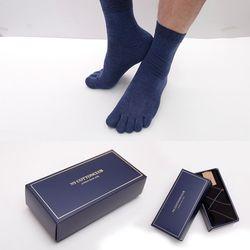 중목 발가락양말(남녀공용) 4매 선물세트