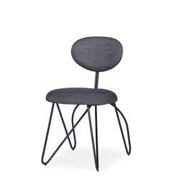 loop side chair(루프 사이드체어-블랙)