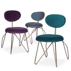 loop side chair(루프 사이드체어-그린퍼플)