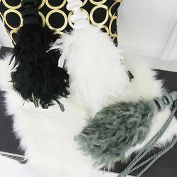 깃털 타이백-3color