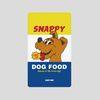 [어프어프][보조배터리]Snappy dog-blue-5000mah