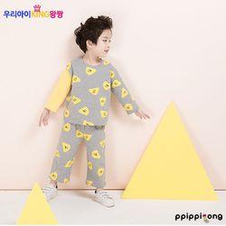 [삐삐롱][18ss]유아동실내복 나쵸 남데일리세트