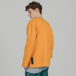 SMCOCL OVERSIZED LONG SLEEVE T-SHIRTS MUSTARD