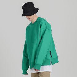 SMCOCL K.OVERSIZED SWEAT SHIRTS GREEN