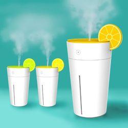 디자인 레몬 차량 사무실 미니 컵 가습기