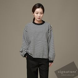 Stripe Stripe knit