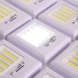 4P LED 조절 스위치 미니 무선 벽면등