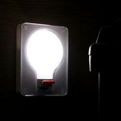 LED 벌브 스위치 미니 무선 벽면등