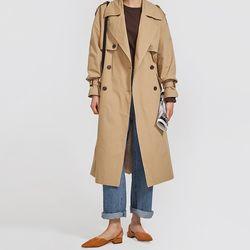 look modern trench coat