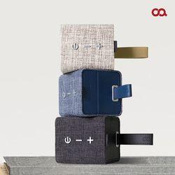 오아 스퀘어린넨 고음질 휴대용 블루투스 스피커