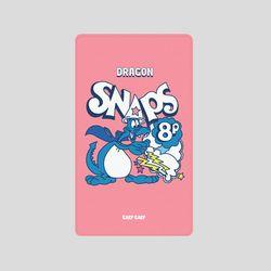 [어프어프][보조배터리]Dragon-pink-5000mah