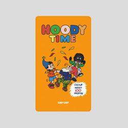 [어프어프][보조배터리]Hoody-yellow-2500mah