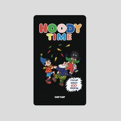 [어프어프][보조배터리]Hoody-black-5000mah