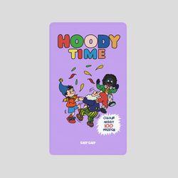 [어프어프][보조배터리]Hoody-purple-2500mah
