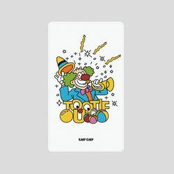 [어프어프][보조배터리]Clown-white-5000mah