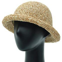[더그레이]DKP03.M 밀짚 여성 여름 벙거지 비치 모자