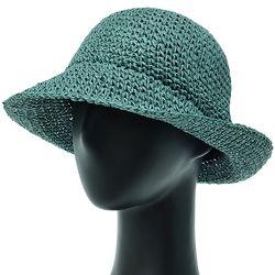 [더그레이]DKP02.S 밀짚 여성 여름 벙거지 비치 모자