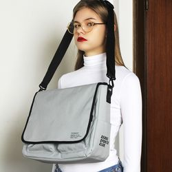SSC MAIL MESSENGER BAG (MELANGE GREY)