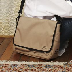 SSC MAIL MESSENGER BAG (BEIGE)