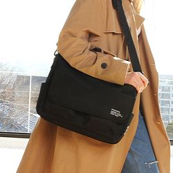 SSC MAIL MESSENGER BAG (BLACK)