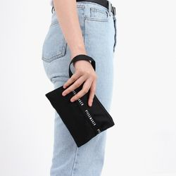 REPLAY POUCH M (BLACK)