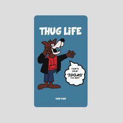 [어프어프][보조배터리]Wolf thug lifeskyblue2500mah