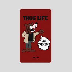 [어프어프][보조배터리]Wolf thug life-wine-5000mah