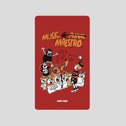 [어프어프][보조배터리]Music maestro-wine-2500mah