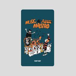 [어프어프][보조배터리]Music maestro-navy-2500mah