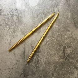 빈티지 골드 볼펜 0.5mm