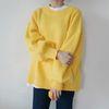 Pudding color knit