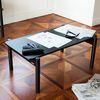 아크 폴딩 테이블 블랙 - 라지