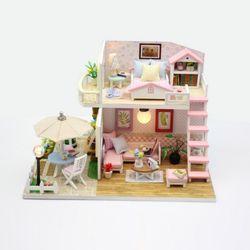 [adico]DIY 미니어처 하우스 - 핑크로프트