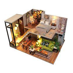 [adico]DIY 미니어처 풀하우스 - 모던 하우스
