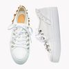 YJ002 Frill sneakers Papaya