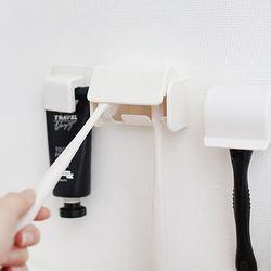 욕실 인테리어 미니멀 라이프 신혼부부 2P 칫솔꽂이