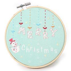 크리스마스 메리자수액자 만들기