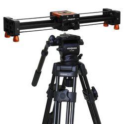 VT-938Q 방송용 삼각대+KV-374 비디오 슬라이더 SET