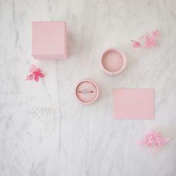 라라로에 핑크 링 박스