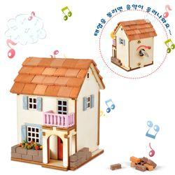DIY태엽오르골 몽마르뜨 집 만들기(YM-950)