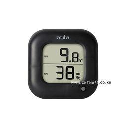 아쿠바 디지털 온습도계 블랙(CS-204)