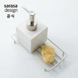 사라사 b2c Bath 와이어 트레이 - 화이트